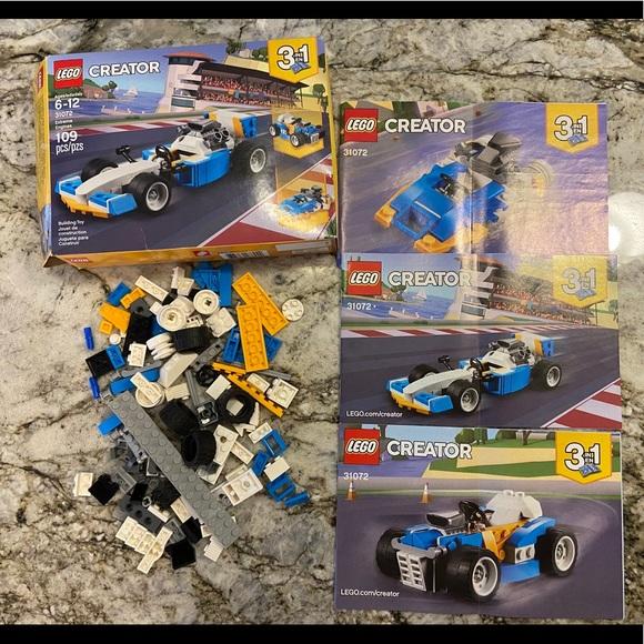 Lego 31072 Creator 3-in-1 Extreme Engines Set